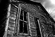 Abandoned Houses Digital Art Metal Prints - Old House Metal Print by Amanda Barcon