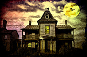 Haunted House Digital Art Framed Prints - Old House at St Michaels Framed Print by Bill Cannon