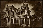 Halloween Digital Art - Old House In Cape May by Bill Cannon