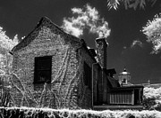 Jeff Holbrook Metal Prints - Old House in Charleston Metal Print by Jeff Holbrook