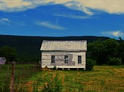 Abandoned Houses Photos - Old House on the Mountain by Joyce  Kimble Smith
