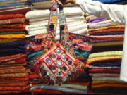 Coins Tapestries - Textiles - Old Indian Bags by Dinesh Rathi