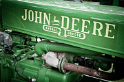 Equipment Photo Originals - Old John Deere by Adam Pender