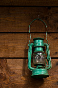 Oil Lamp Prints - Old lamp Print by Daniel Kulinski