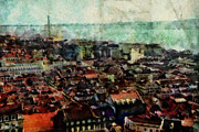 European City Mixed Media - Old Lisbon by Dariusz Gudowicz