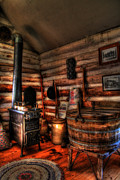 Log Cabin Photos - Old Log Cabin by Joel Witmeyer