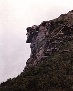 New Hampshire Art - Old Man of the Mountain by Wayne Toutaint