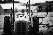 Ferguson Art - Old Massey Ferguson Tractor In Ireland by Joe Fox