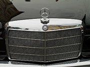 Valuable Photo Prints - Old Mercedes logo Print by Odon Czintos