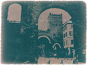 Town Square Metal Prints - Old Milan Metal Print by Irina  March
