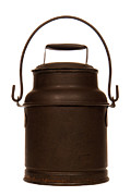 Americana Photo Metal Prints - Old Milk Can Metal Print by Olivier Le Queinec