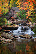 Mabry Framed Prints - Old mill 4 Framed Print by Emmanuel Panagiotakis