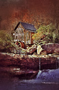 Wood Mill Photos - Old Mill on a Stream by Jill Battaglia