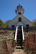 Traverse Bay Photos - Old Mission Point Lighthouse by LeeAnn McLaneGoetz McLaneGoetzStudioLLCcom