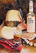 Centennial Paintings - Old Montana Red Eye by Karen Stark