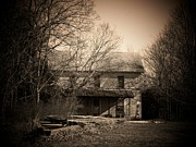 Abandoned Houses Photos - Old Mountain House by Joyce  Kimble Smith