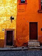 San Miguel De Allende Framed Prints - Old Neighbors Framed Print by Olden Mexico