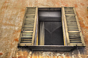 Open Window Framed Prints - Old open window Framed Print by Mats Silvan