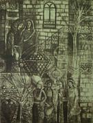 Old Oriental Story Print by Ousama Lazkani