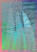 Heike Schenk-Arena - Old paper and silver fern