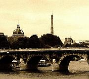 Seine Digital Art - Old Paris in the Square by Leonard Rosenfield