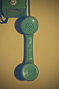 Vintage Telephone Photos - Old Phone by Joana Kruse