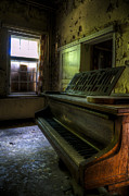 Light.music Framed Prints - Old piano Framed Print by Nathan Wright