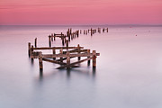 Piers Photos - Old Pier at Swanage by Richard Garvey-Williams