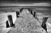 Old Pier Print by Dapixara Art