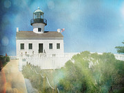 Cabrillo National Monument Posters - Old Point Loma Lighthouse II Poster by Traci Lehman