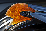 Classic Hood Ornament Posters - Old Pontiac Chief Poster by Dennis Hedberg