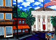 Gators  Paintings - Old Post Office by Holly Donohoe