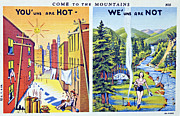 Old Postcard Print by Susan Leggett