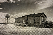 Outbuilding Framed Prints - Old Prison Outbuilding Framed Print by Susan Isakson