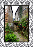 Quartier Posters - Old Quarter with border Poster by Carla Parris