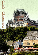Quebec Art - Old Quebec by Linda  Parker