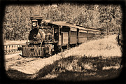 Coal Burner Framed Prints - Old Rail Steamer Framed Print by Garry Staranchuk
