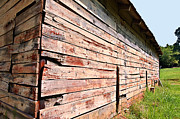 Barnboard Prints - Old Red Barn Print by Susan Leggett
