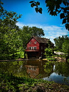Photography By Colleen Kammerer Photos - Old Red Grist Mill by Colleen Kammerer