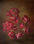 Old Roses Print by Karen Martin