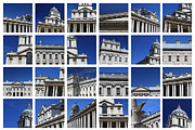 Naval College Prints - Old Royal Naval College Greenwich London Print by Pauline Cutler