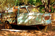 Old Pick Up Prints - Old rusty truck Print by Tom Gowanlock