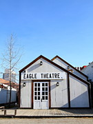 Theatres Photos - Old Sacramento California . Eagle Theatre . 7D11491 by Wingsdomain Art and Photography