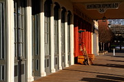 Boardwalks Photo Posters - Old Sacramento California . Huntington Hopkins and Company . 7D11701 Poster by Wingsdomain Art and Photography