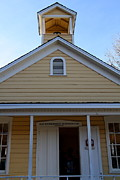 Old Sacramento California . Schoolhouse Museum . 7d11579 Print by Wingsdomain Art and Photography