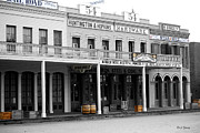 Historic Buildings Posters - Old Sacramento Poster by Cheryl Young