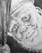 Joseph Palotas Art - Old Saint Nick  by Joseph Palotas