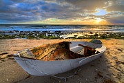 Beach Photograph Posters - Old Salty II Poster by Debra and Dave Vanderlaan