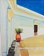 San Juan Paintings - Old San Juan 1 by Ada Astacio