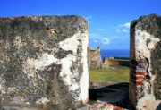 Castillo San Cristobal Posters - Old San Juan Fortress Poster by Thomas R Fletcher